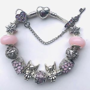Pandora bracelet 'Stars fairies & flowers'